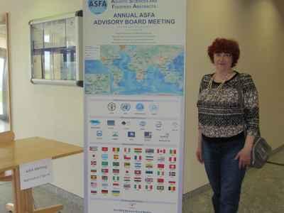 Руководитель группы АСФА-Россия во ВНИРО, член Консультативного Совета АСФА София Сергеевна Левашова
