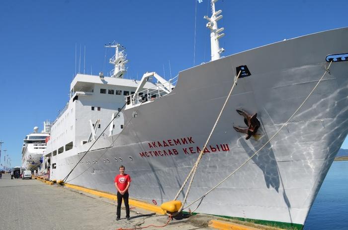 третий  этап исследований НИС «Академик Мстислав Келдыш» в Южном океане