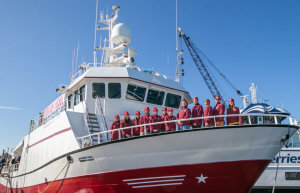 The second international expedition to study the Pacific salmon has been completed